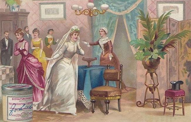 Chú rể sợ quá bỏ trốn rồi, các thánh soi hãy giúp cô dâu tìm ra anh ấy