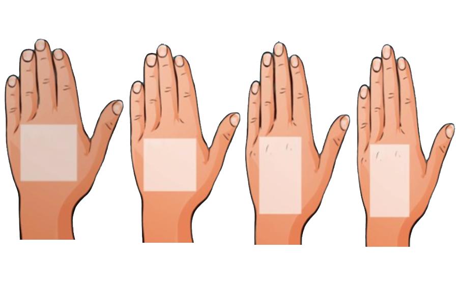Xem hình dạng bàn tay để biết mình có tính cách như thế nào